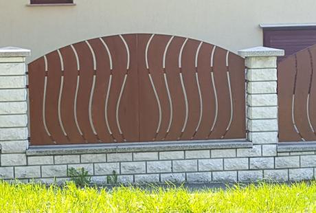 Fa kerítés