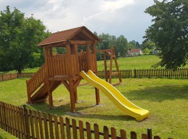 Fa játszóterek készítése